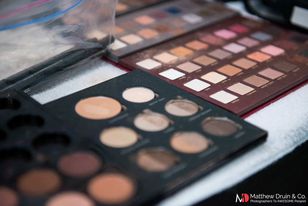 Kari Roerts Makeup Artist's eyeshadow palettes investment