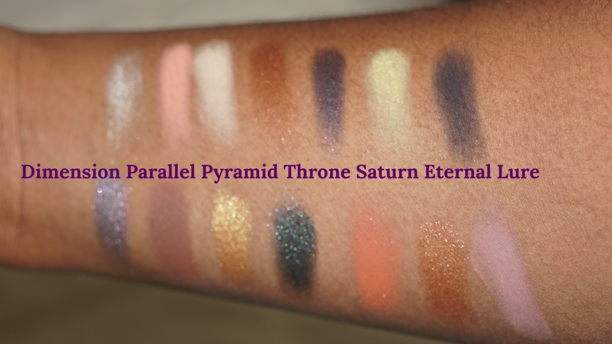 ABH prism swatches bottom row