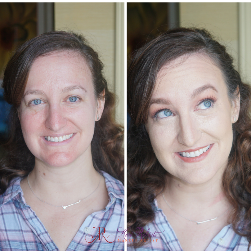 special occasion makeup before and after 1