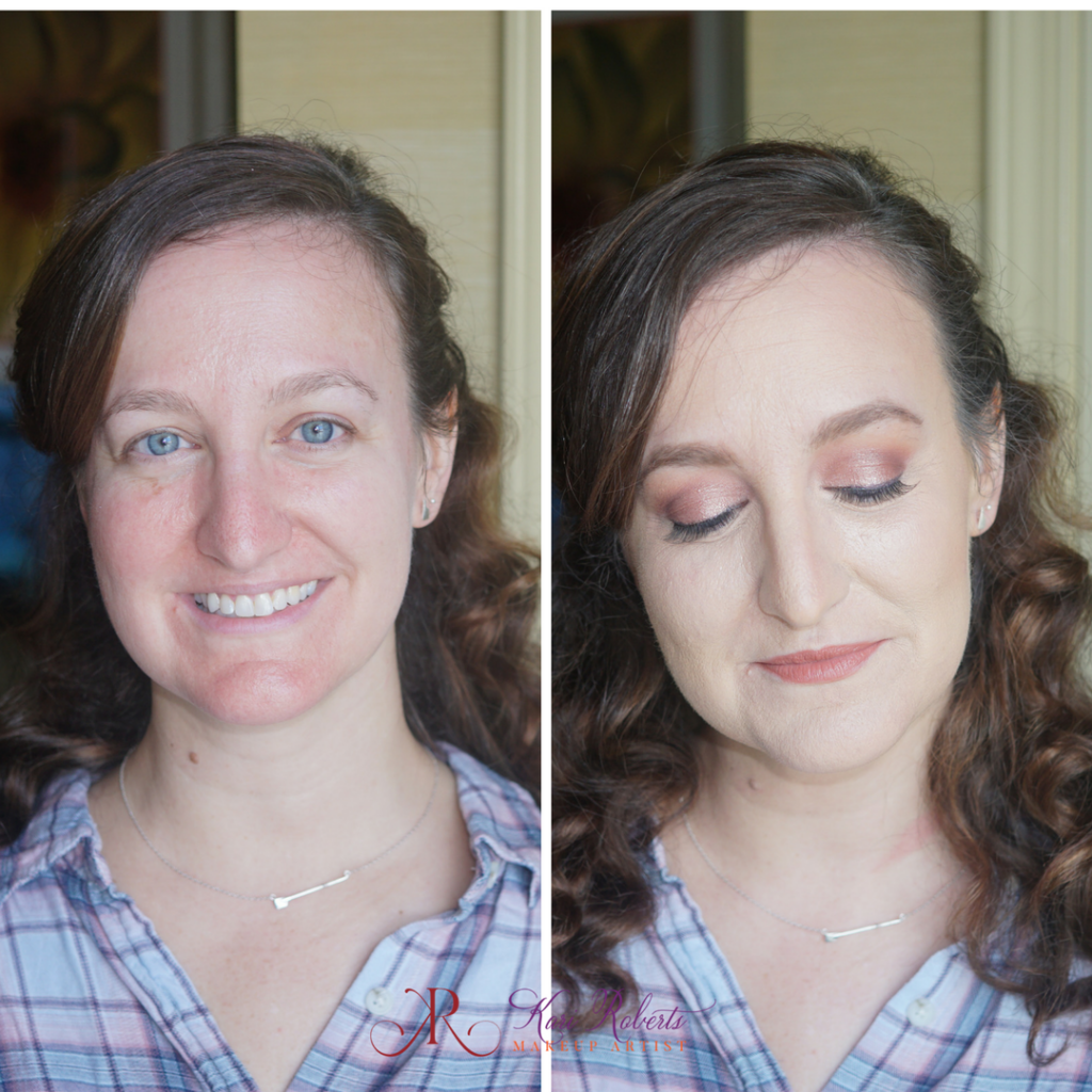 special occasion makeup before and after eyes closed