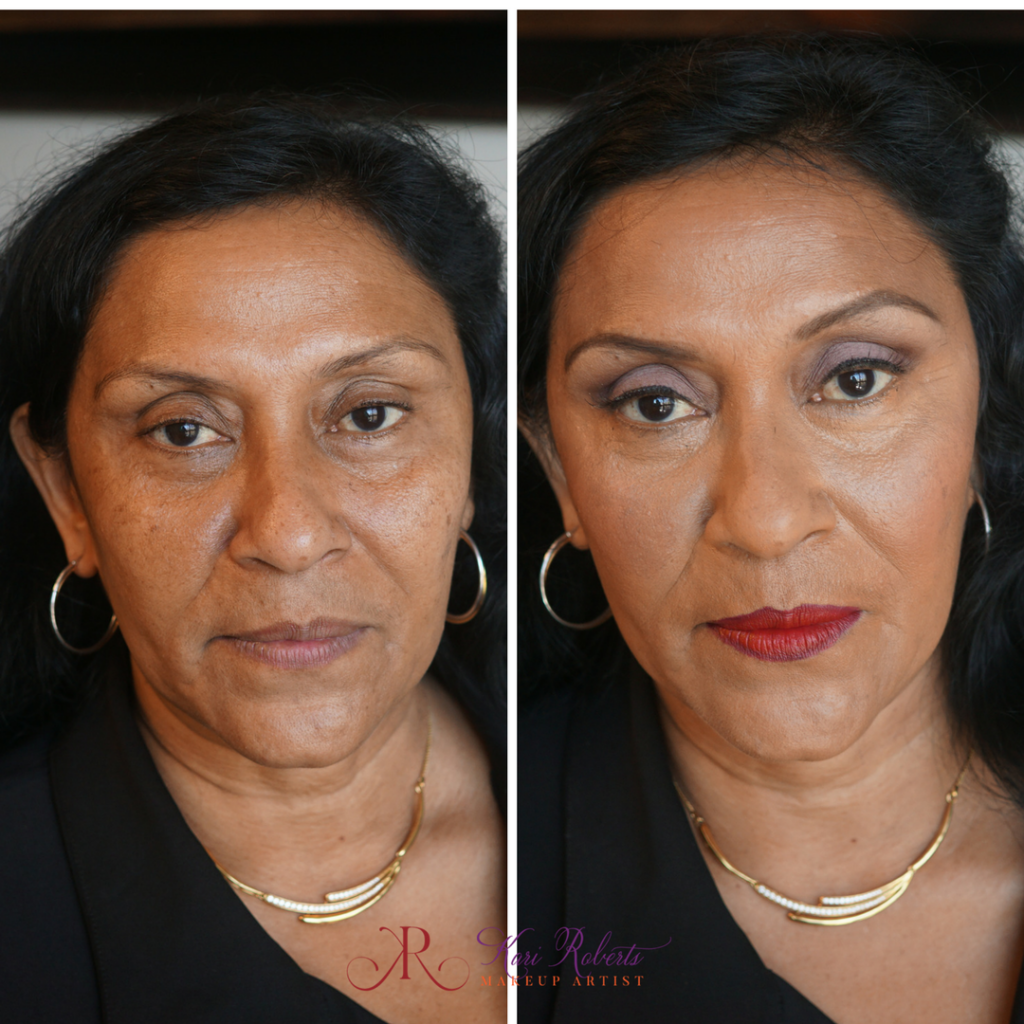 Arabian Wedding Makeup - aunt 2