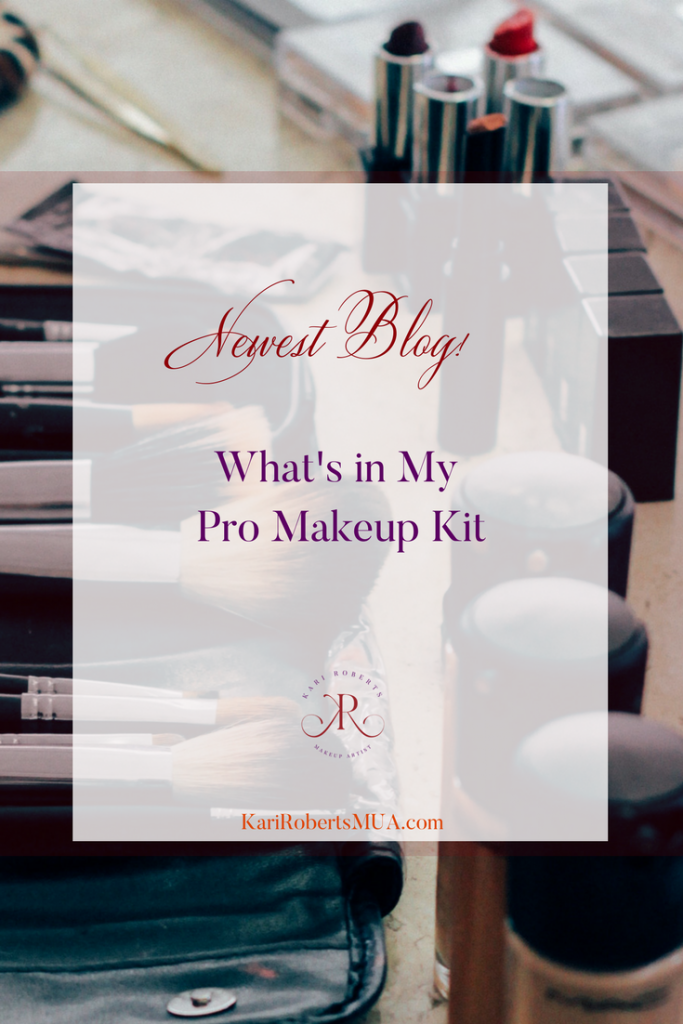 What's in My professional makeup kit kari roberts makeup artist