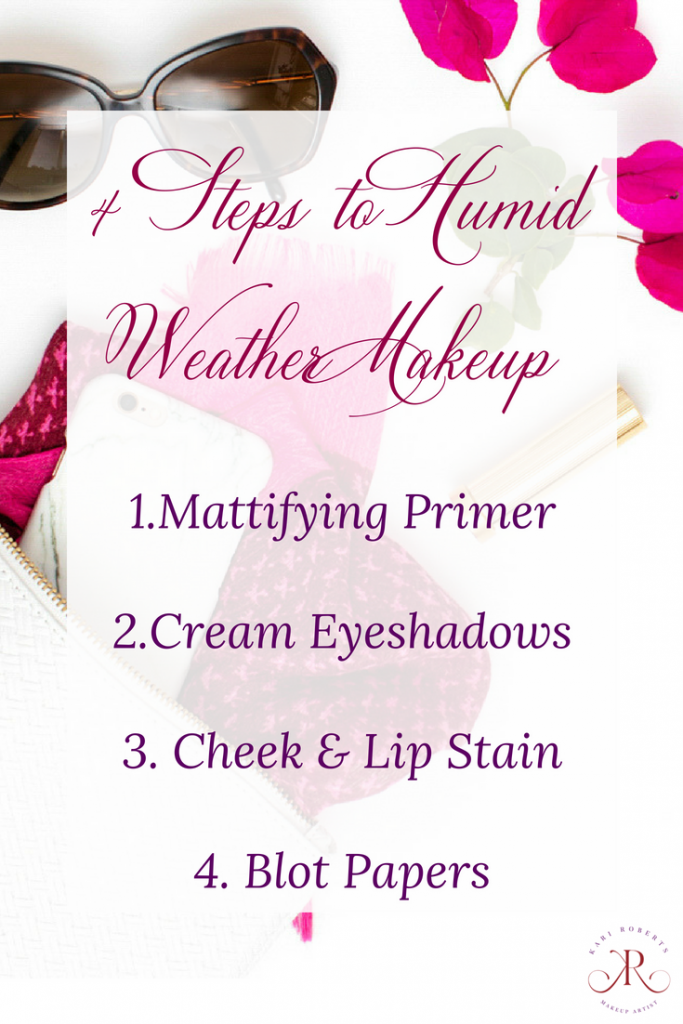 kari roberts makeup artist 4 steps to humid weather makeup image