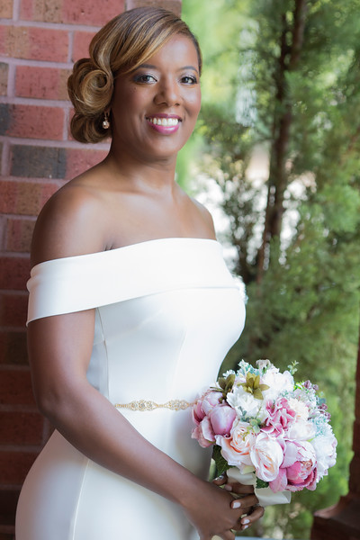 Summer wedding kari roberts makeup artist bride 1