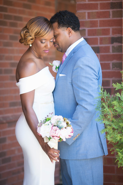 Summer wedding kari roberts makeup artist bride   and groom