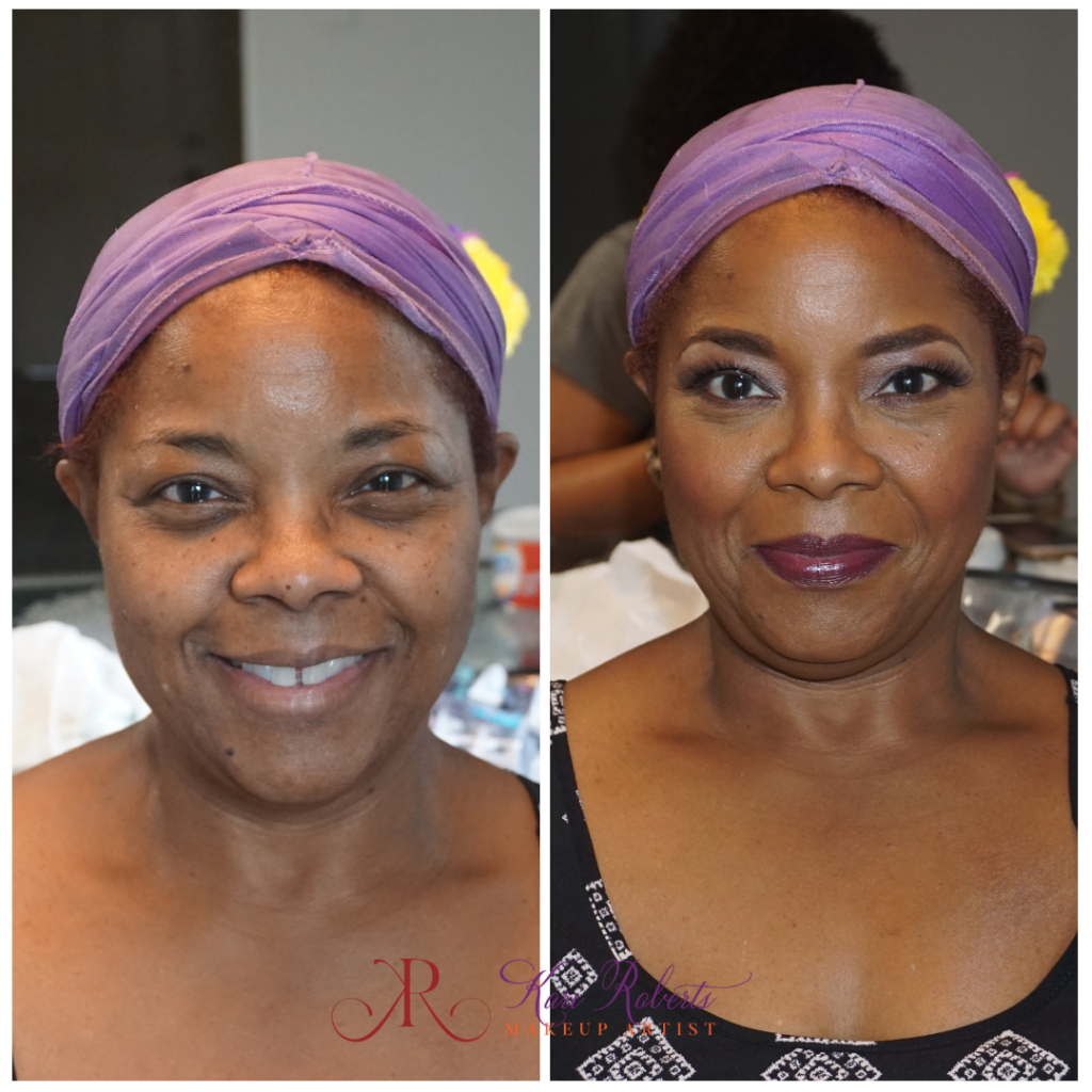 makeup for mature black women