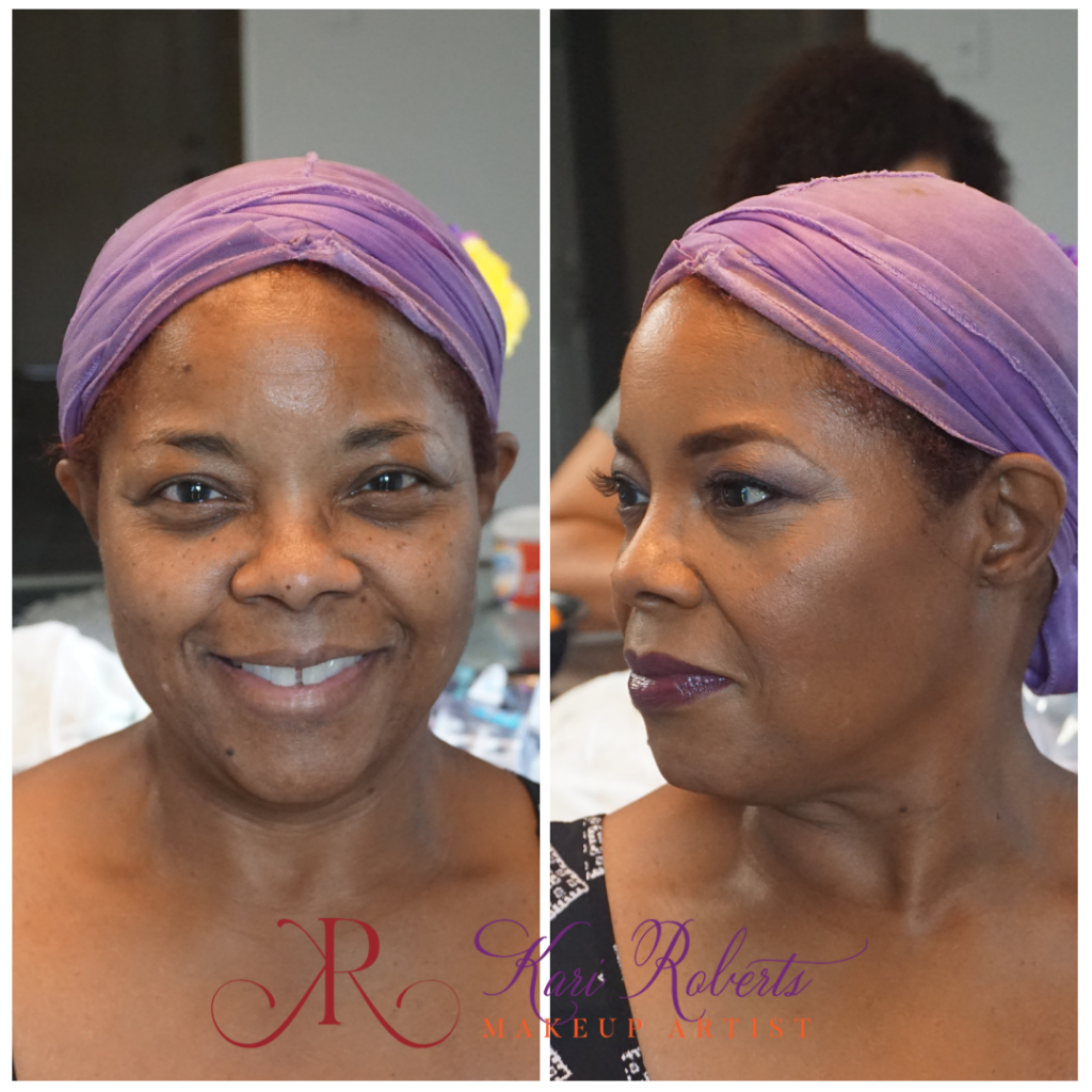 mature makeup for black women